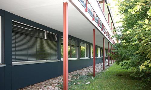Brandschutzsanierung Med. Klinik Tübingen